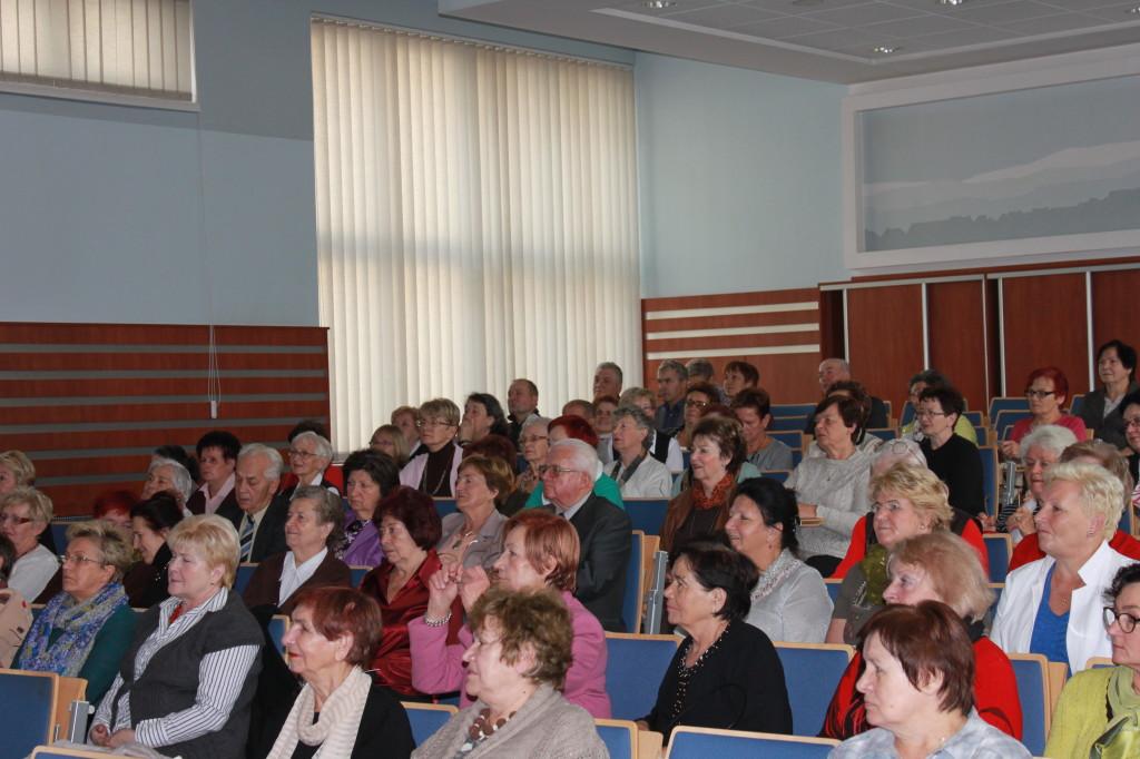 Publiczność dopisała - na sali zebrało się 90 osób